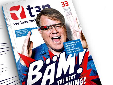 t3n Magazin Ausgabe 33 - responsive Design