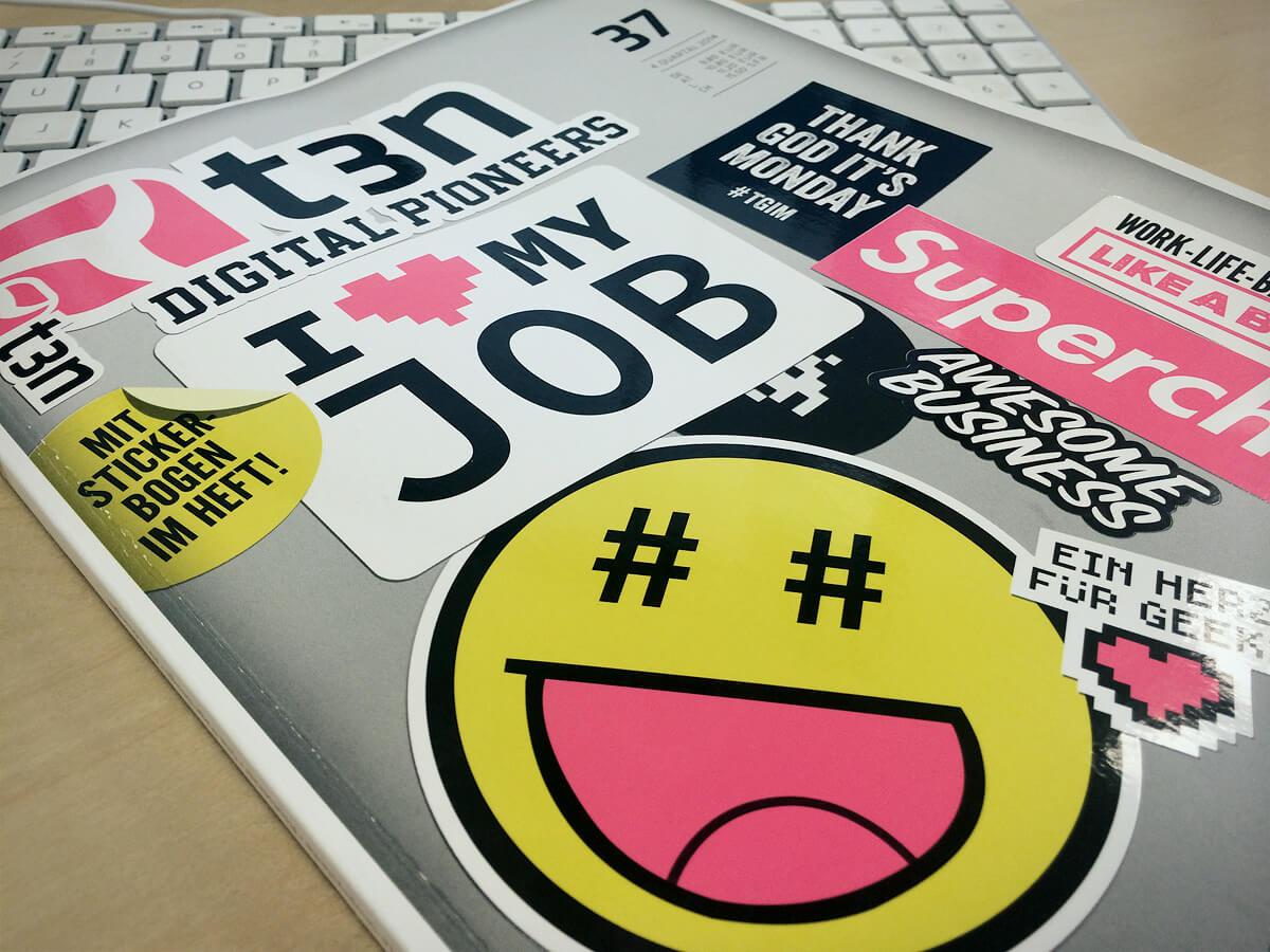 t3n#37 Fachartikel Webentwicklung von Ilja Zaglov - Cover