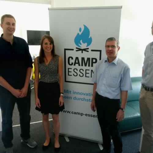imbaa & Neomatt nehmen am Parttime-Startup Projekt des Camp Essen teil